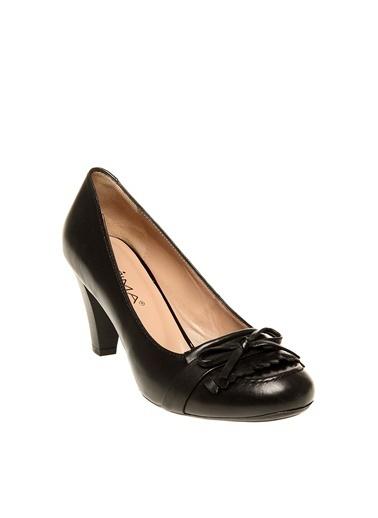 Prima Prima Siyah Düz Ayakkabı Siyah